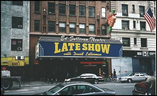 The Ed Sullivan Theater, home to The Late Show with David Letterman