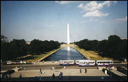The Reflecting Pool and the Washington Monument